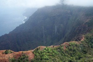 The Kalepa Ridge Trail on Kauai